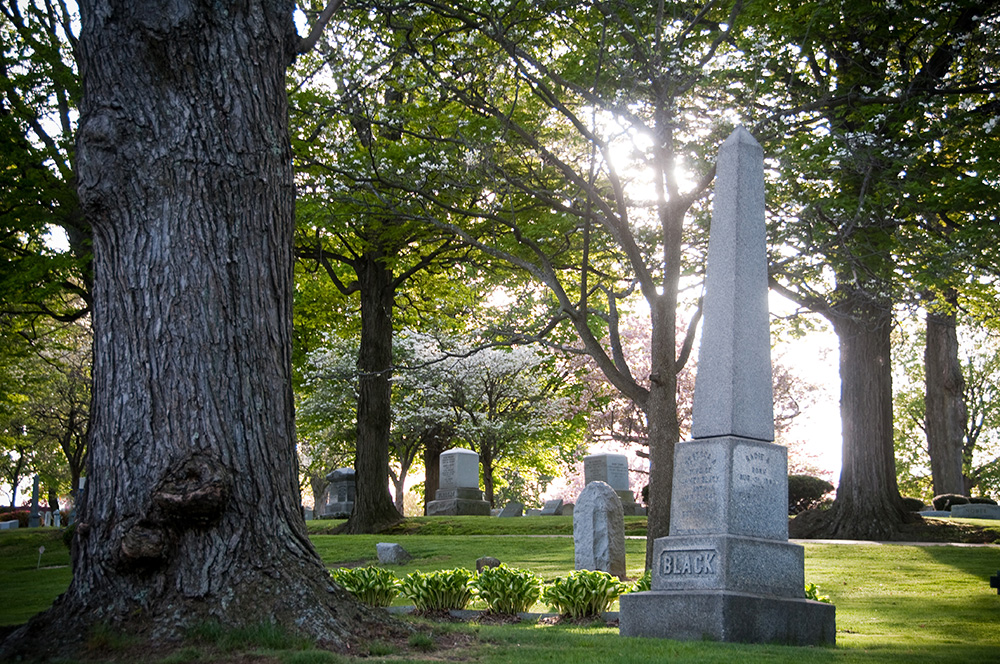 Maple Hill Cemetery grounds
